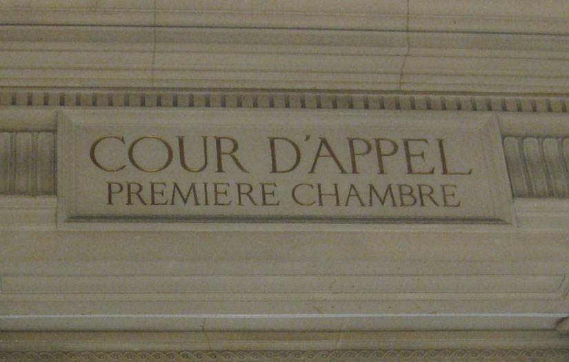 Avocat Cannes - Cours appel Paris